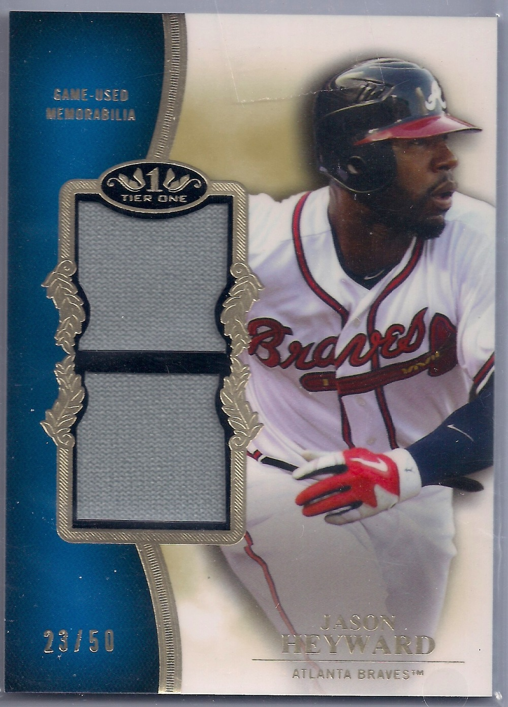 2012 Topps Tier One Dual Relic #TSDR-JH