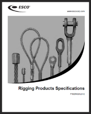 ESCO Rigging - Catalog