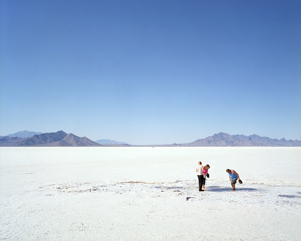 At the Salt Flats