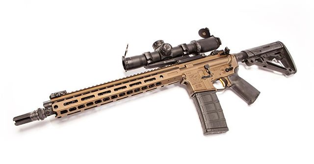 """@moderncarbine MC5 5.56mm 14.7"""" with @leupoldoptics MK8 1-8 in Shadow Bronze. If you are a MS Resident and looking to get your own Modern Carbine, MR1 or any other firearms and accessories we offer. Join us August 26 & 27 weekend for our 2nd Amendment TAX FREE Sales where all firearm and accessories are sales tax free. Sorry does not include tax stamps on class 3 items. Get the word out and come see us! We offer financing 6 & 12 months no interest. #modernoutfitters #moderncarbine #taxfreesale #secondamendment #secondamendmenttaxfreesale #taxfree #guns #shooting #hunting #firearms #weapons #2a"""