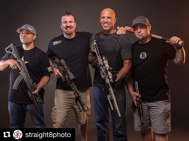 @straight8photo  Got the pleasure of hanging out with some of the worlds best today! @realroyce @heirloomprecision and @monkeyedge. Thanks for coming by the studio! Rocking the new @modernoutfitters MR1 and the @moderncarbine MC6 6.8spc #BJJ #Gracie #roycegracie #ufc #champ #legends #1911 #jasonburton #gunsofinstagram #dailybadass #igmilitia #mma #2a @moderncarbine  @sharpsbros @officialcryeprecision