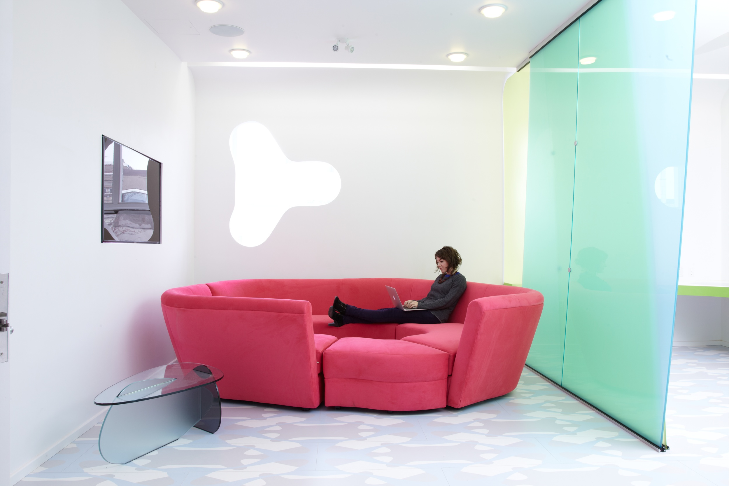 Queens opens the first ever boutique laboratory designed by award winning global designer karim rashid human media lab