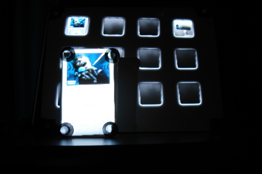 displayobjects workbench (2008) styrofoam ipod with ui editor