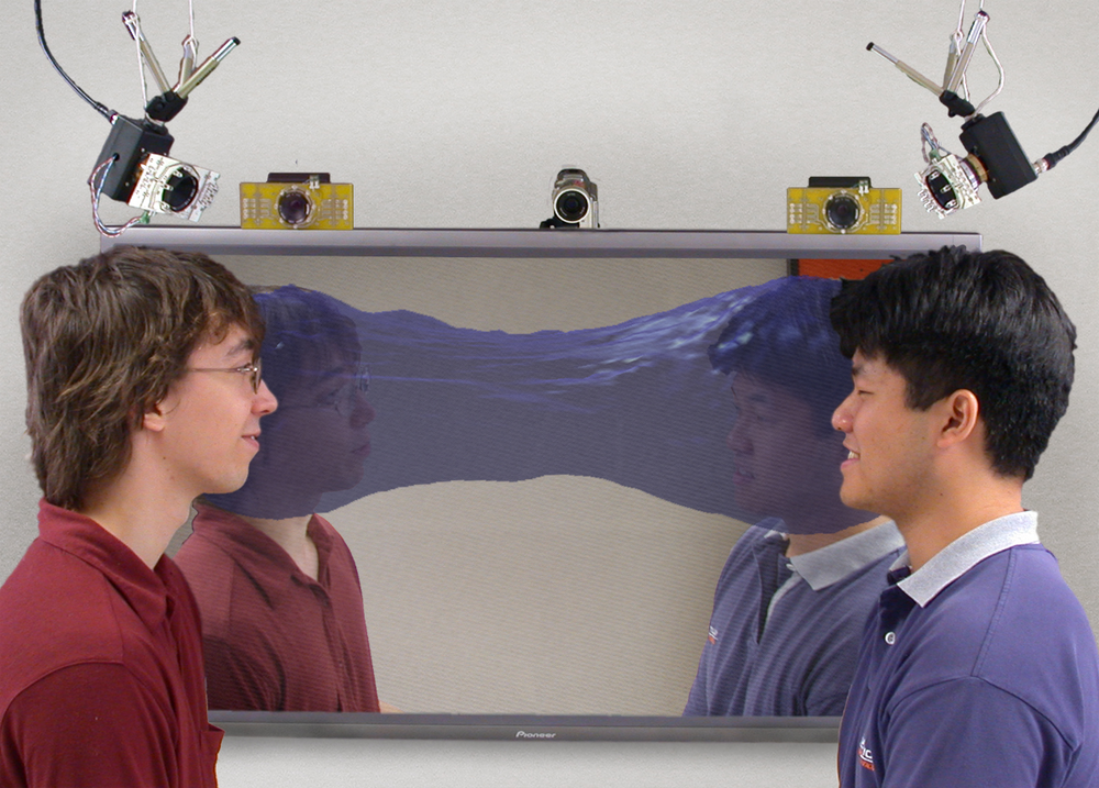 auramirror (2003) visualizes joint attention by sensing looking behaviour