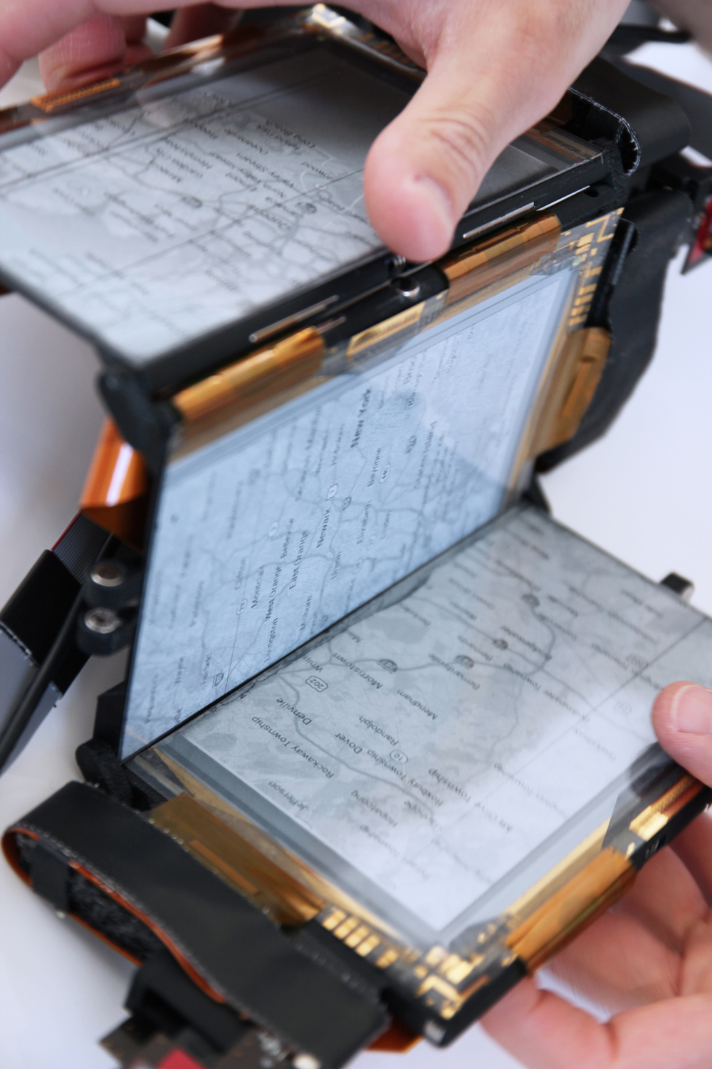 paperfold (2014): foldable thinfilm smartphone