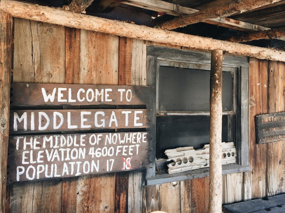 Middlegate, Nevada