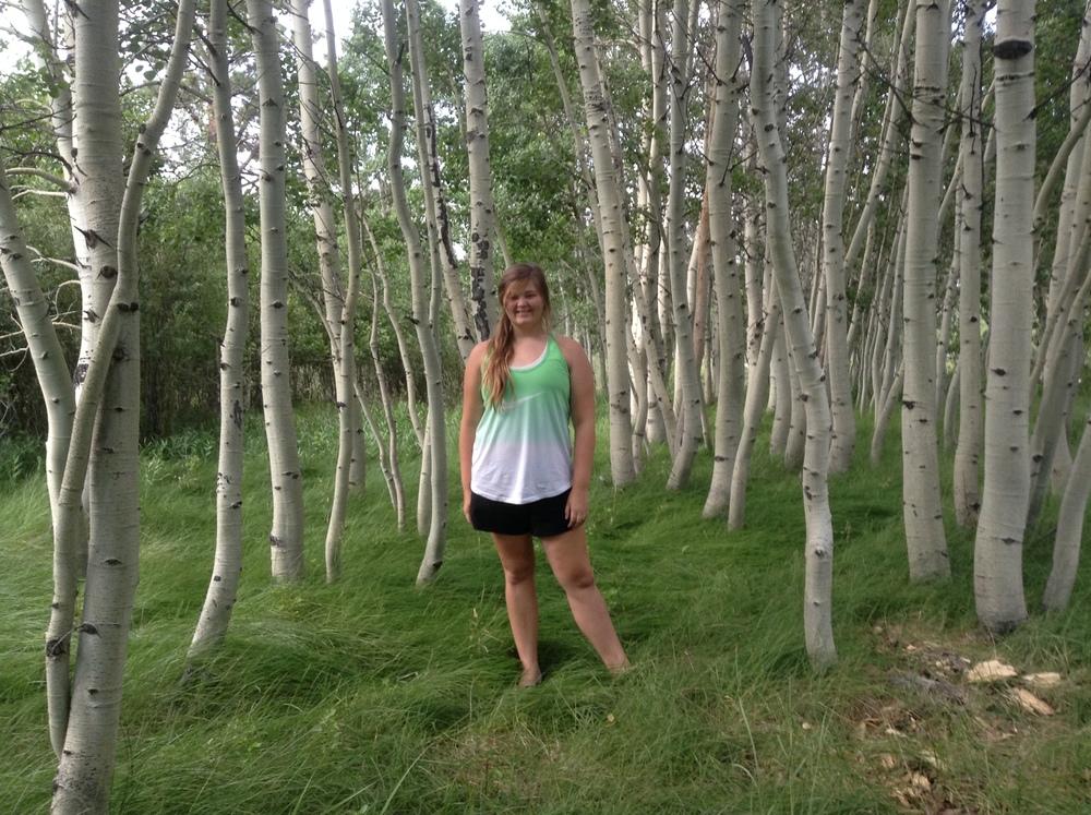 Photo taken while fetching firewood