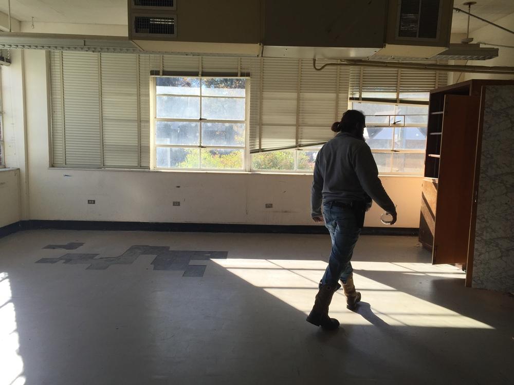abandoned middle school