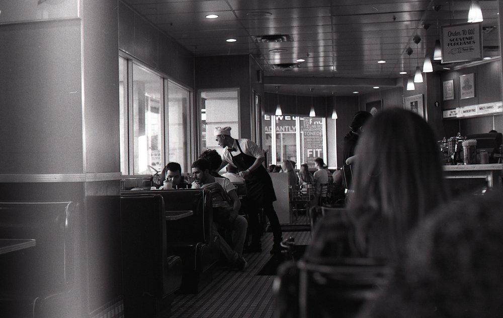 Shot on Practika MTL3 (35mm) using Ilford Delta 100 film.