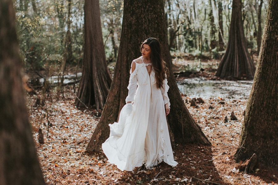swamp adventures with Natalie Phillips and Free People Ridgeland