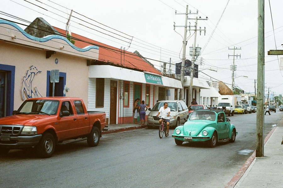 35mm film Quintana Roo by Katie Corley