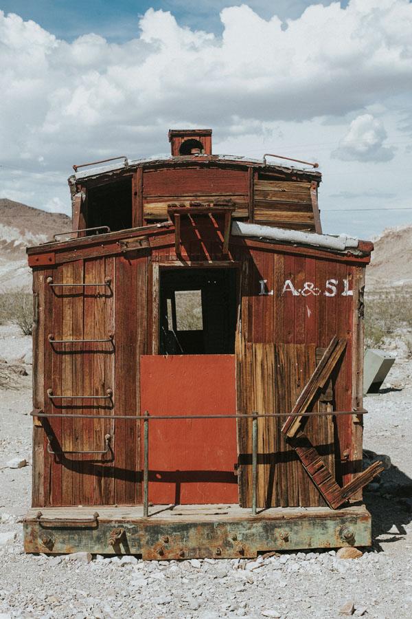 Abandoned Train Car 1800s