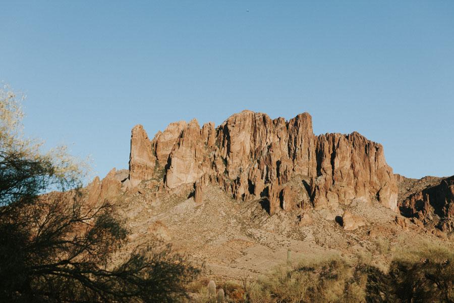 Superstition Mountains Lost Dutchman State Park Phoenix Arizona