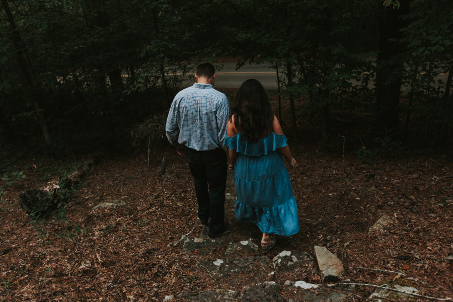 tishomingo state park engagement session