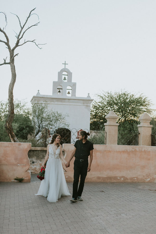 san xavier elopement tucson arizona