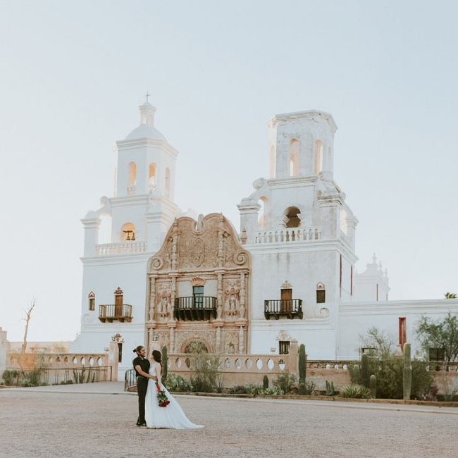 Tucson Arizona elopement by Katie Corley