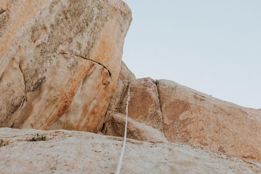 San Diego rock climbing | Photo: Katie Corley