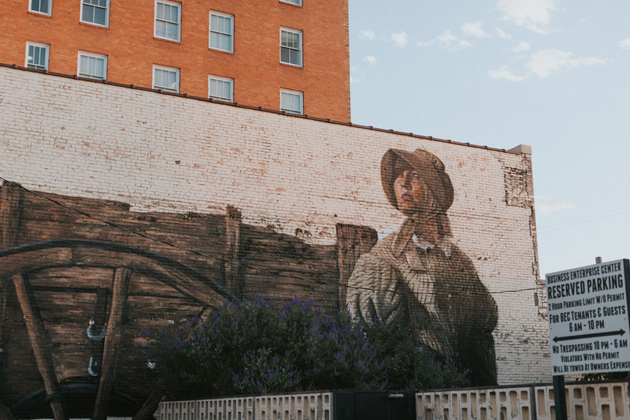 mural in clovis new mexico | photo by katie corley