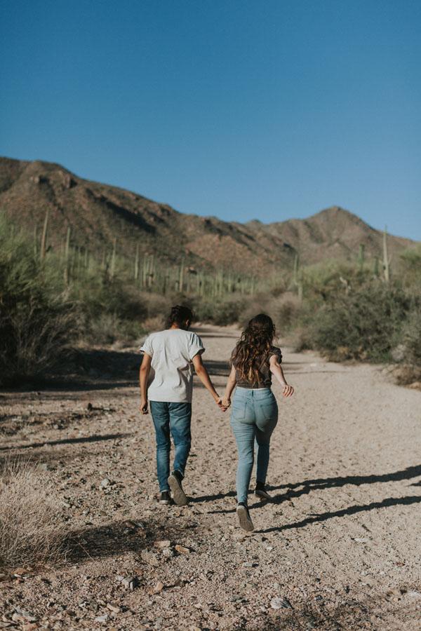 Sara + Arturo Trapaga   Saguaro National Park Couple Portraits Tucson AZ