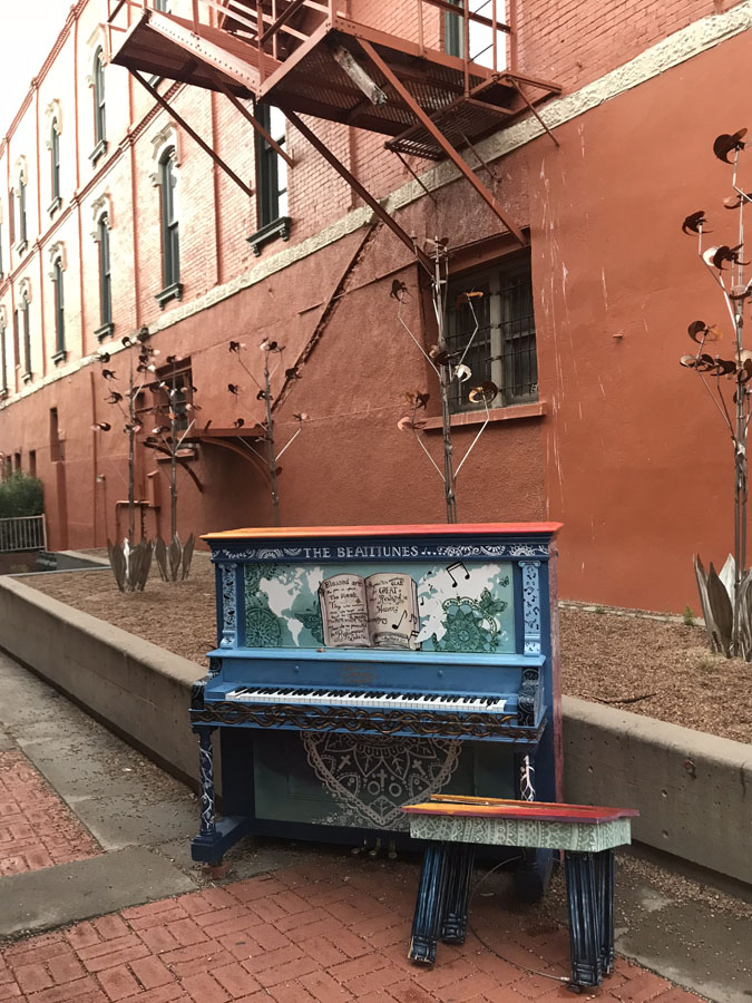 Trinidad, Colorado pianos