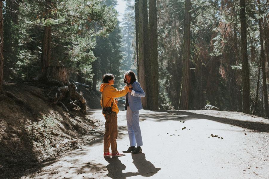 Sara + Arturo | Sequoia California