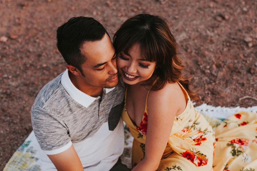 Denise + Byron Tanigawa | Phoenix Couple Photos