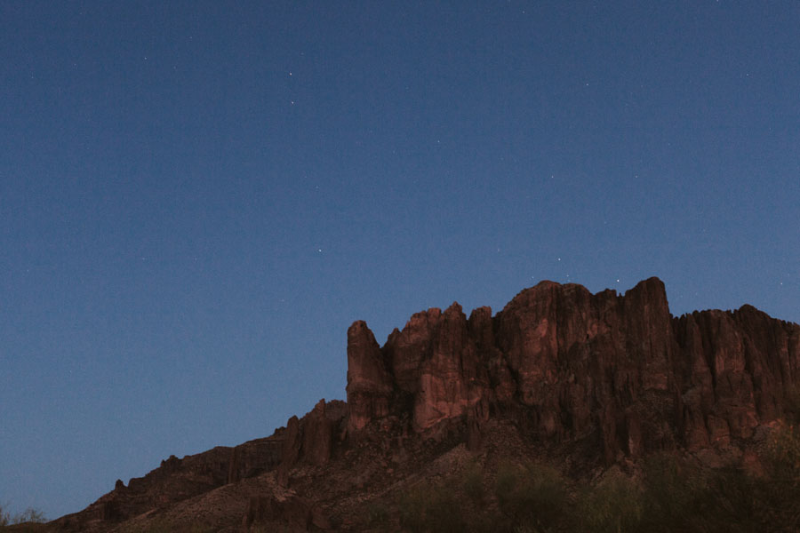 Superstition Mountains Phoenix Arizona