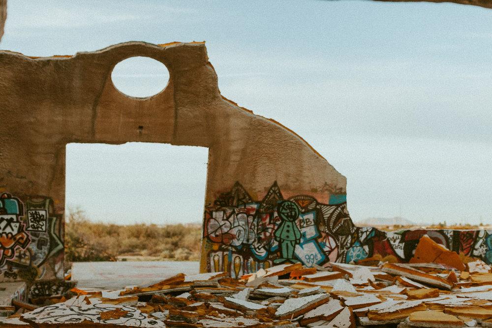 The Domes / Abandoned in Arizona   Katie Corley
