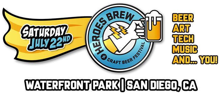heroes brew craft beer festival san diego july 22 2017