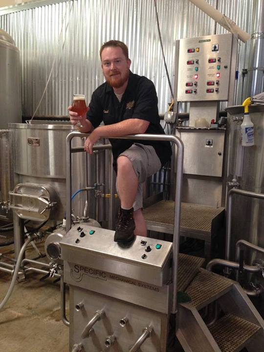 Head brewer Paul Ford