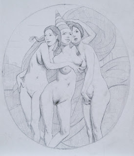 """Three Graces,"" Adam Miller"