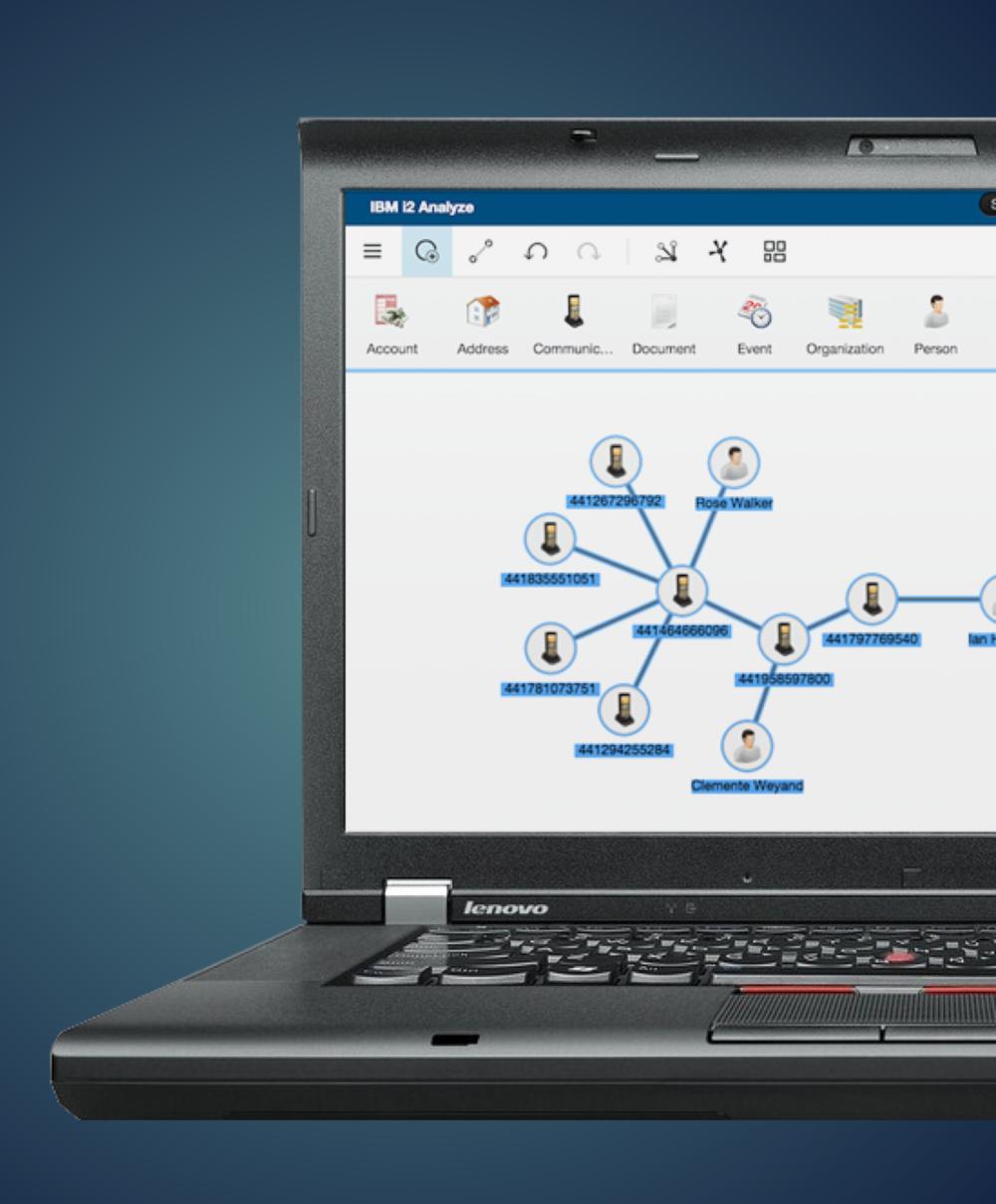 IBM i2Analyze - Coming Soon