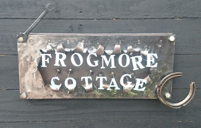Bespoke House Signs now available....Your design or give me a theme and let me create something a bit wacky...or we can work together to come up with something :-)