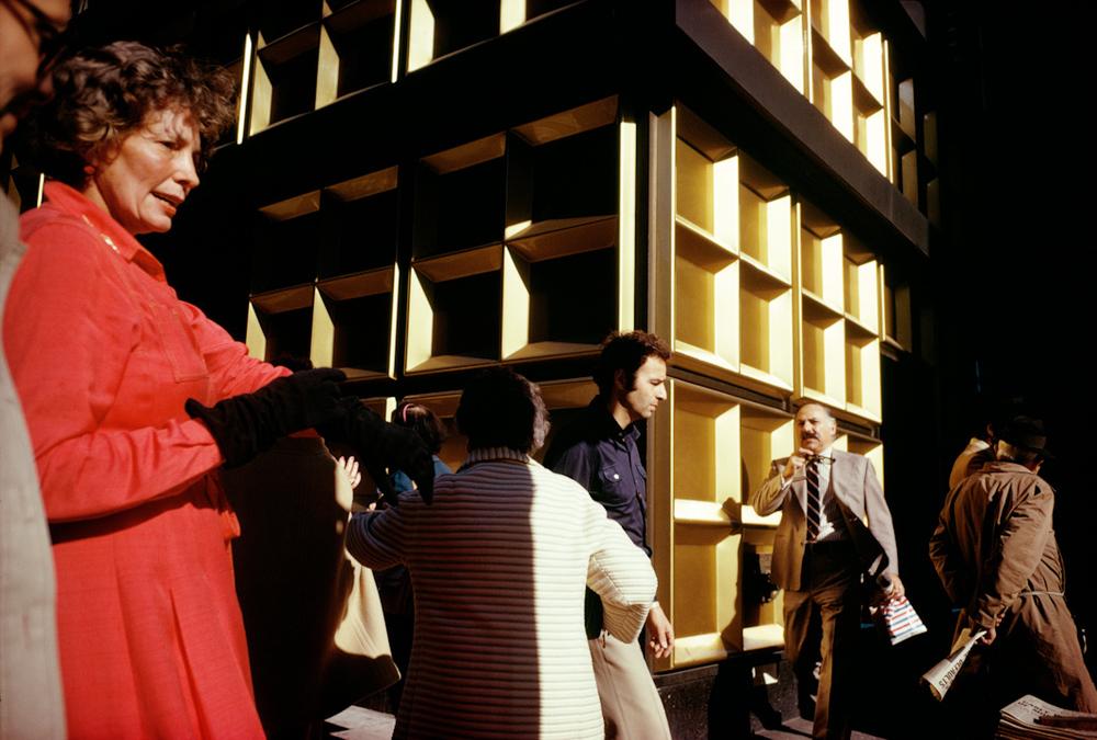 New York City, 1975 © Joel Meyerowitz