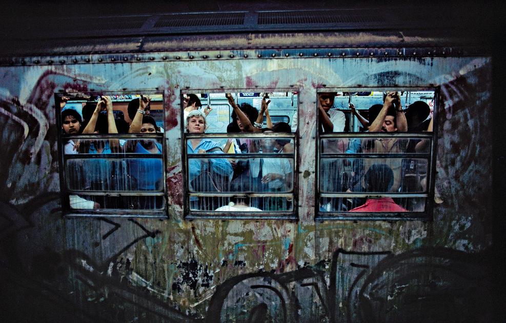 Subway © Bruce Davidson