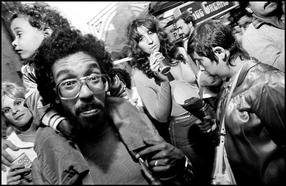 New York City, 1984 © Bruce Gilden