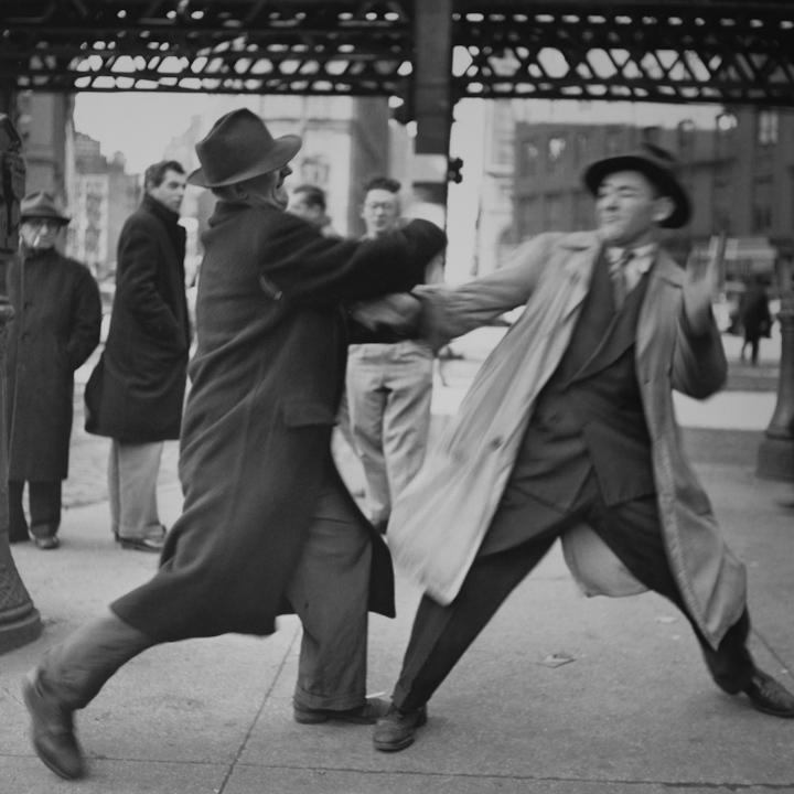 New York City, 1950 © Elliott Erwitt