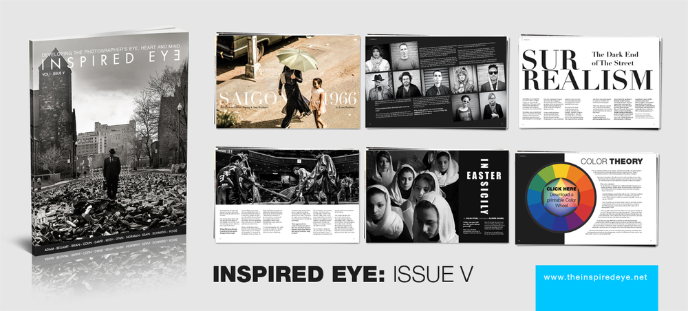 Inspired Eye: Issue 5 Out Now.