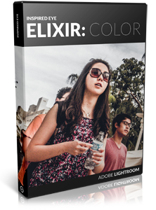 Your images will never look better. Inspired Eye Elixir: Color presents 24 eye-popping color presets from soft to gritty, conservative to experimental. Get your copy today >