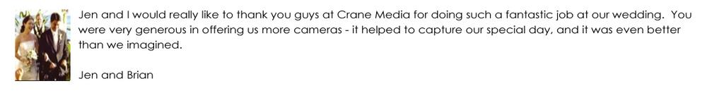 Crane Media Review