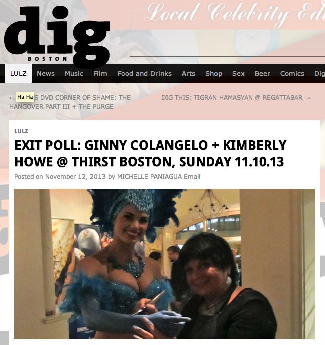 Weekly Dig Exit Poll Nov 12, 2013