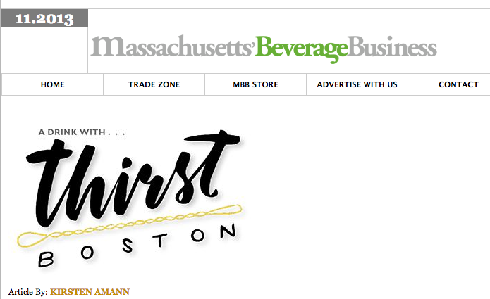 Massachusetts Beverage Journal Nov. 2013