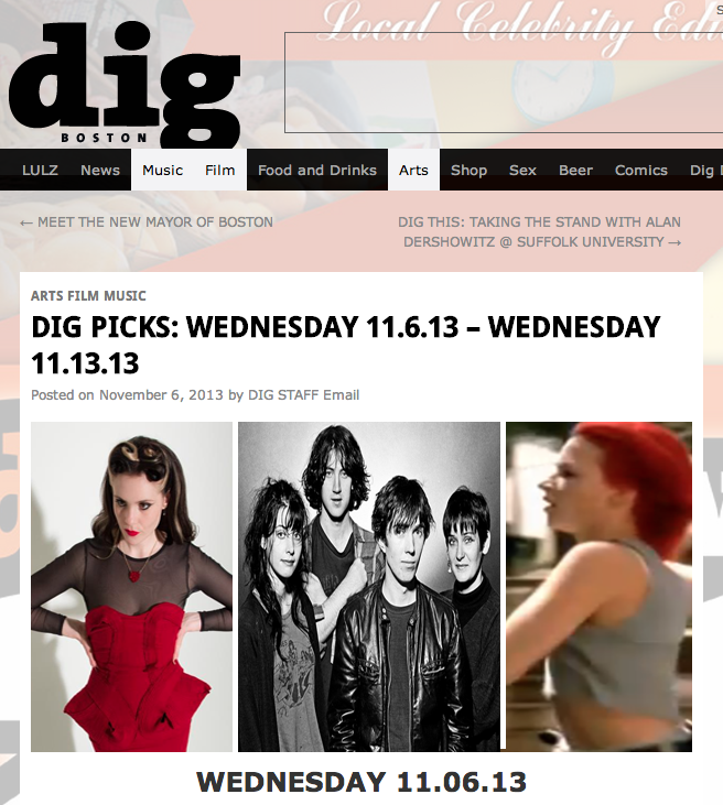 Weekly Dig -Weekly Picks Sept. 1, 2013