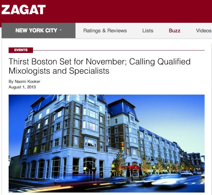 Zagat Aug. 1, 2013