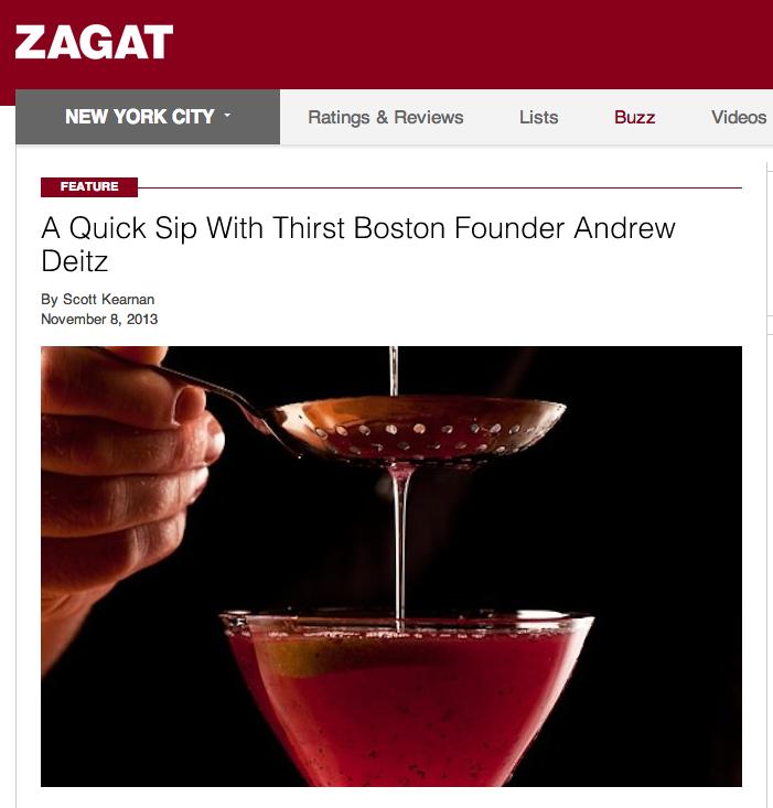 Zagat Nov. 8, 2013