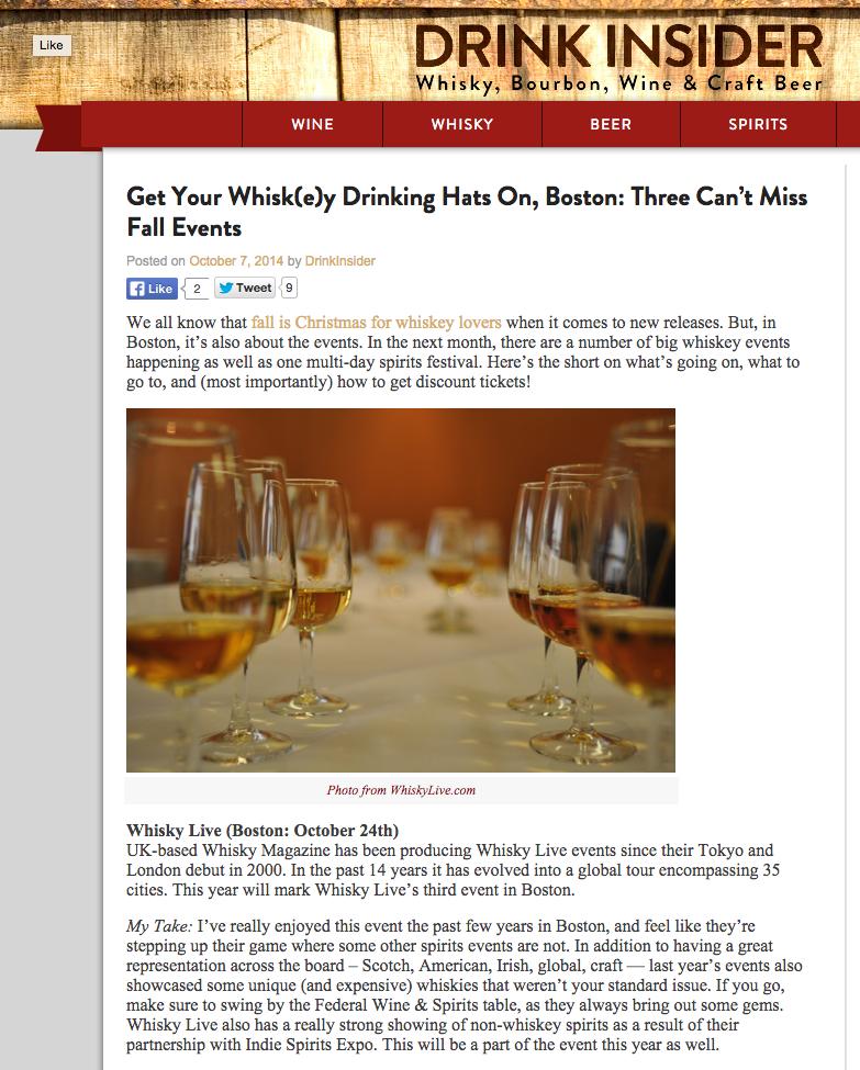 Drink Insider Oct 07, 2014