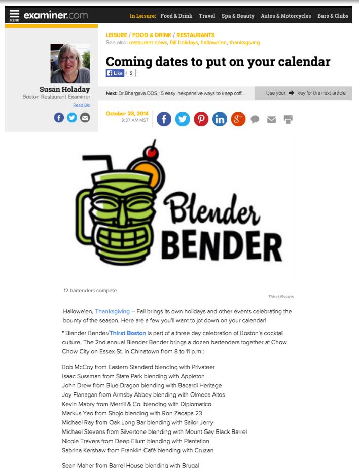 Examiner.Com Oct 23, 2014