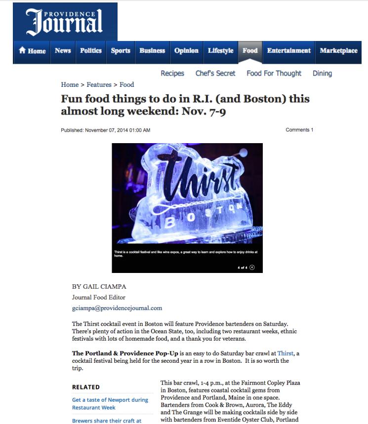 Providence Journal Nov 07, 2014