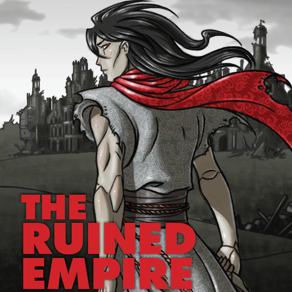 Ruined empire cover by claudia cangini
