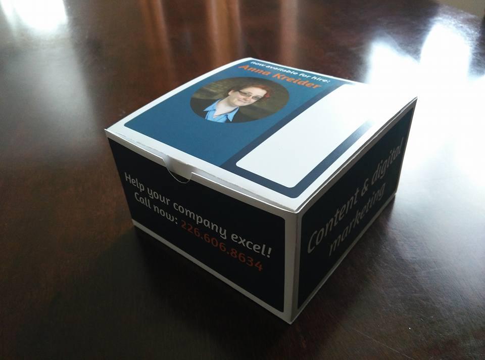 Anna Kreider: resume box